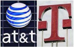 ATT - T-Mobile Logos