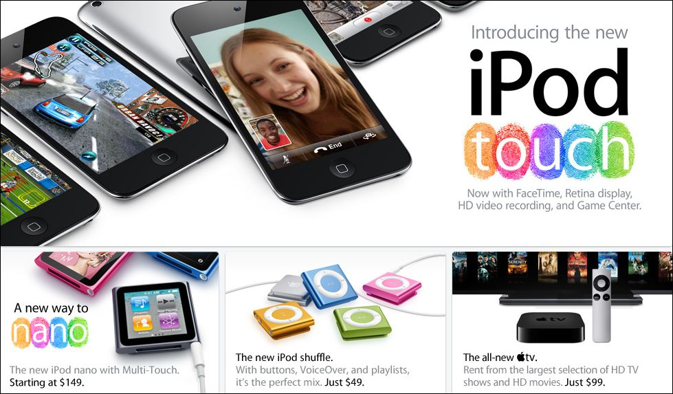 Apple - New iPods