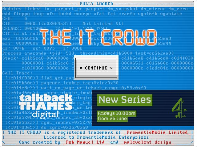 IT Crowd Game
