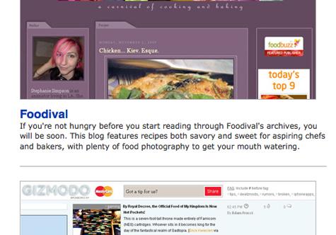 PCMag Favorite Blogs 2009