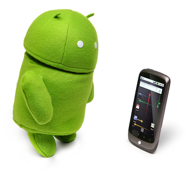 Thinkgeek Plush Android
