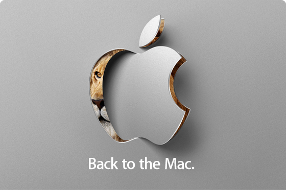 back to the mac event