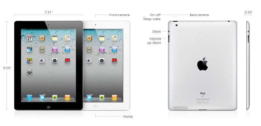iPad Tech Specs