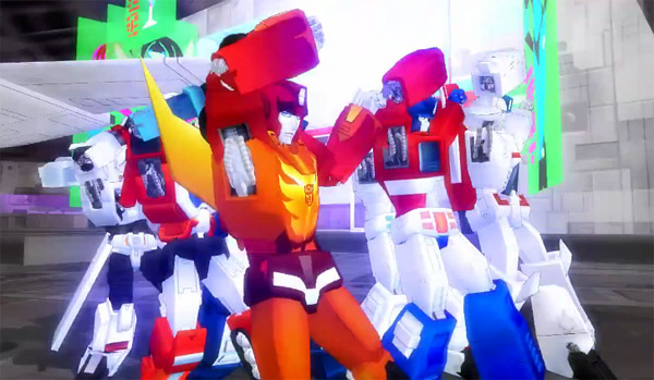 transformers thriller dance