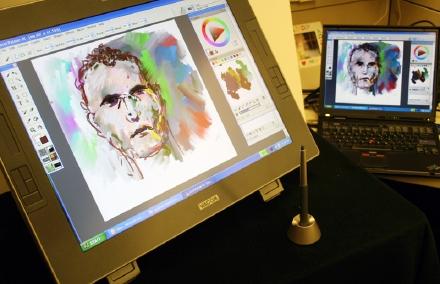 wacom lcd tablet