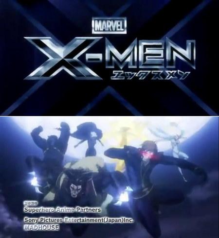 X-Men Anime Opening Scene