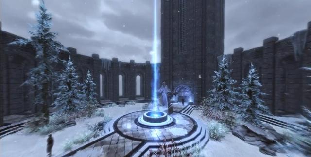 Epic Skyrim Timelapse Video